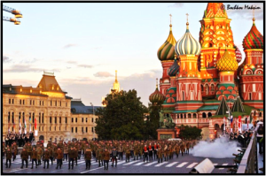 Участие в фестивале «Спасская башня». Москва