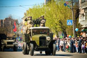 Участие в парадах 9 мая в Московской области  Ногинск, Электрогорск, Павловский Посад